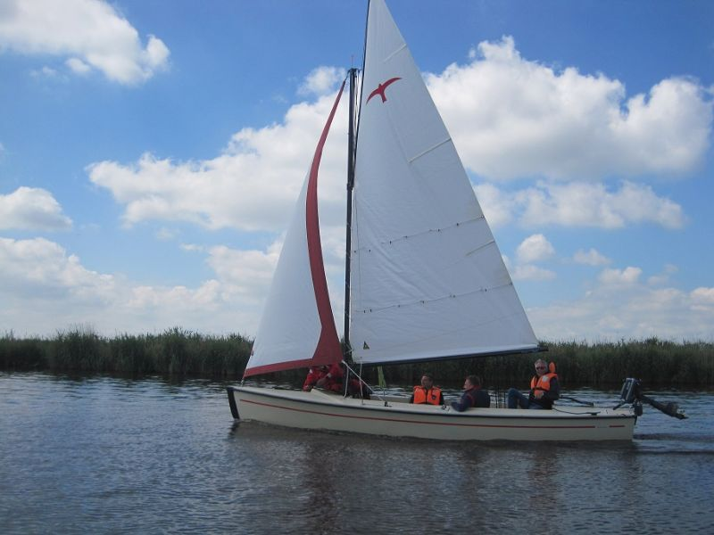 Sailingcenter Langweer - Offene-Segelboote